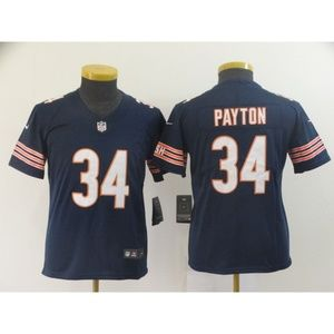 Youth Chicago Bears Walter Payton Jersey